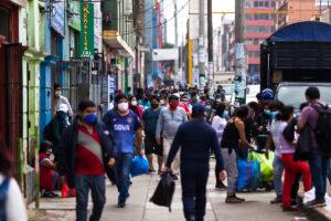 Aumento de contagios covid-19 en distritos limeños