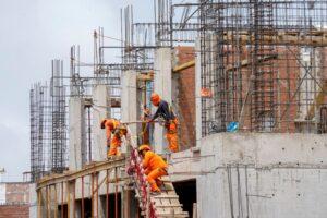 Población ocupada en sector construcción aumentó 4.8% en primer trimestre del año