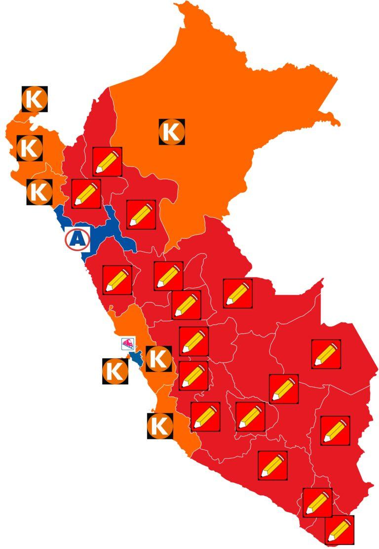 mapa electoral 2021