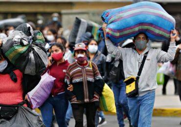 Población ocupada de Lima Metropolitana se redujo en 14,7%