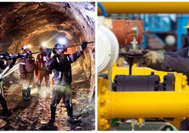 Sector Minería e Hidrocarburos creció 15,37%